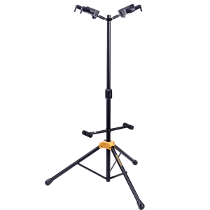 Hercules Support de guitare double - Système Auto Grip - Pliable