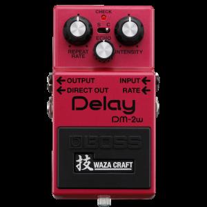 Boss DM-2W Delay - Pédale Delay édition Waza Craft