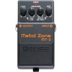 Boss MT-2 Metal Zone distorsion