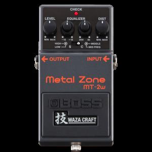 Boss MT-2w Metal Zone - pédale de distorsion édition Waza Craft