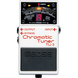 Boss TU-3 Accordeur chromatique