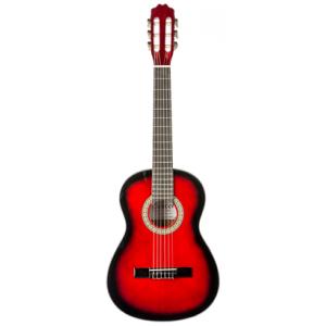 DENVER - Guitare classique format 3/4 - rouge
