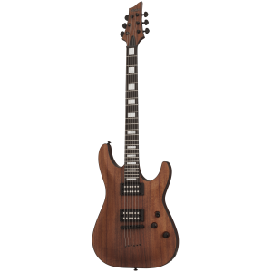 Schecter C-1 Koa in Natural Satin - guitare électrique