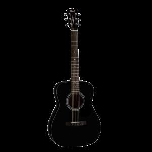 Cort AF510-BKS Grand Concert Guitare Acoustique - fini Noir Satiné