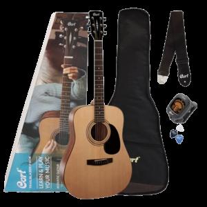 """Cort Cap-810 - kit du débutant pour guitare acoustique """"Trailblazer"""""""