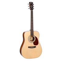 Cort EARTH70 guitare acoustique dreadnought - Naturel Gloss Top