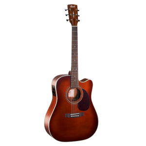 Cort MR500E guitare acoustique électrique dreadnought - Brown Burst