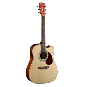 Cort MR500E guitare acoustique électrique dreadnought - Open Pore
