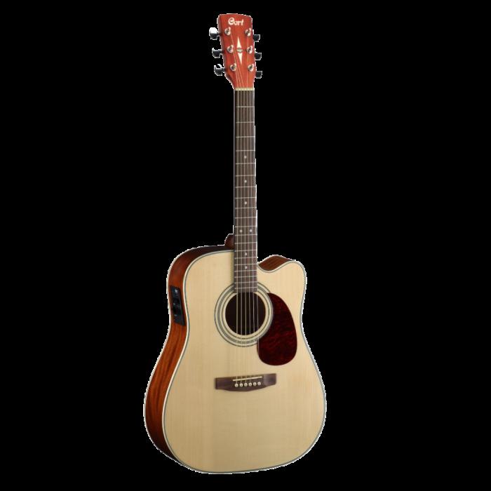 B-STOCK Cort MR500E guitare acoustique électrique dreadnought - Open Pore