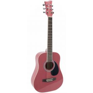 Jay Turser JTA502-PK Guitare acoustique grandeur 1/2 - rose