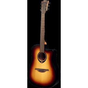 LÂG TRAMONTANE 70T70DCE-BRB guitare folk acoustique électrique
