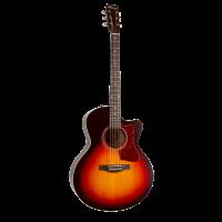 Norman B18 CW MJ Cherry Burst A/E guitare acoustique électrique