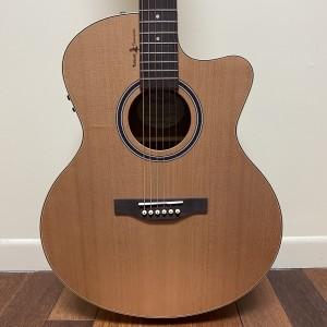 Simon&Patrick SG-T35 Natural Cherry guitare acoustique-électrique