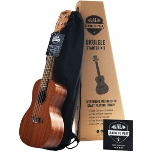 Kala KALA-LTP-C Learn To Play Concert Ukulele Starter Kit