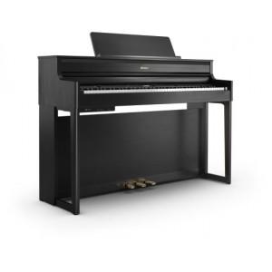 ROLAND HP704 piano numérique avec banc et meuble - noir anthracite