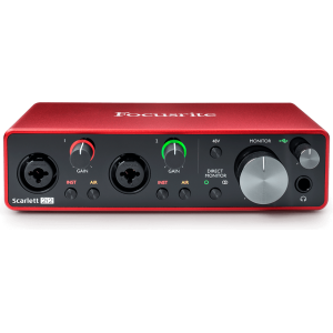 Focusrite Scarlett 2i2 3e génération - Interface audio USB 2.0
