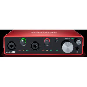 Focusrite Scarlett 4i4 3e génération - Interface audio USB - 4 entrées / 4 sorties