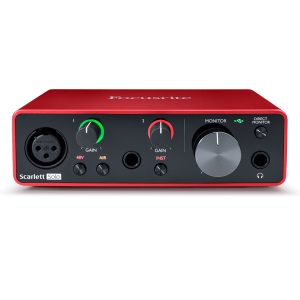 Focusrite Scarlett Solo 3e génération - Interface audio USB