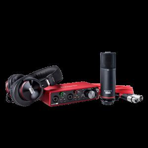 Focusrite Scarlett 2i2 Studio 3e génération - pack d'enregistrement