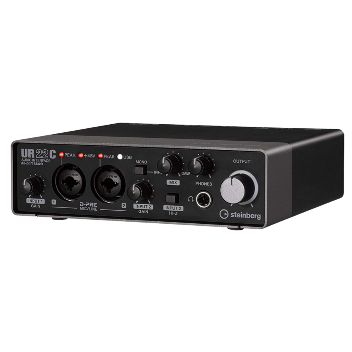Steinberg Interface audio USB 2 entrées/2 sorties UR22C