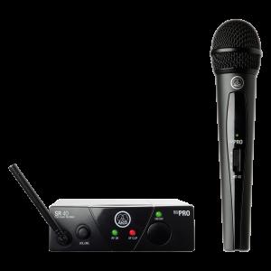 AKG WMS40 Mini Vocal Set Band-US45-A Système de microphone sans-fil
