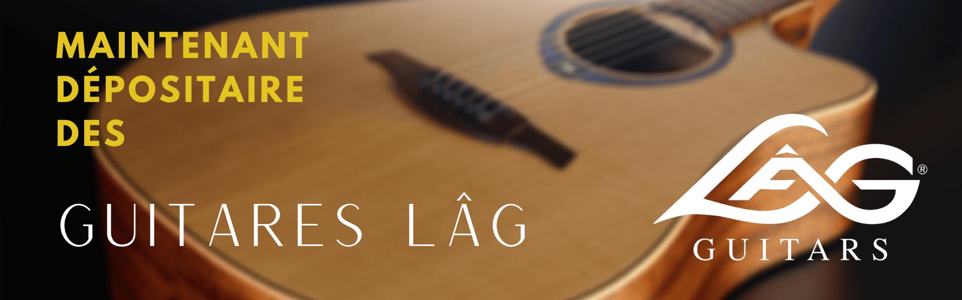 Dépositaire guitares LÂG